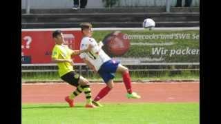 Die BSC-Jungs zeigten gegen den BVB-Tabellen-Ersten eine hervorragende Leistung! thumbnail