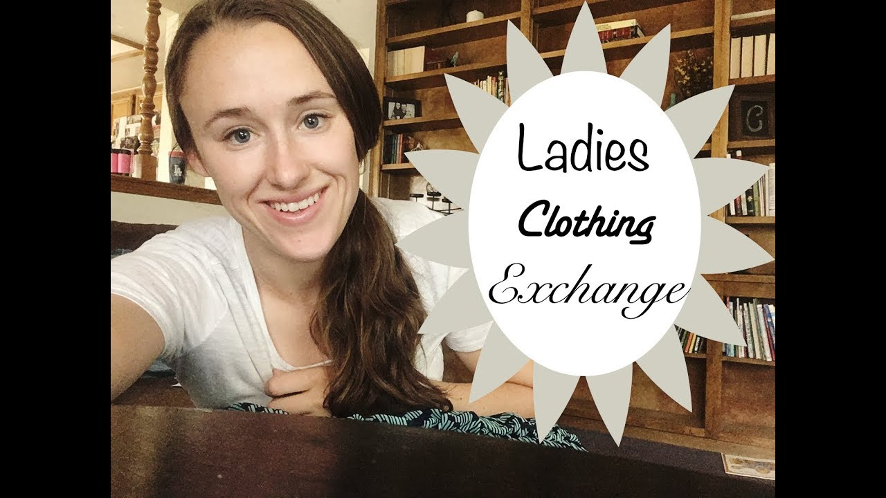 How to Dress Modestly for FREE! || Clothing Exchange || Ladies Church Event  Idea