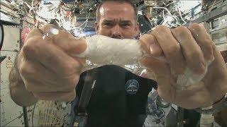 Выжимаем полотенце в космосе