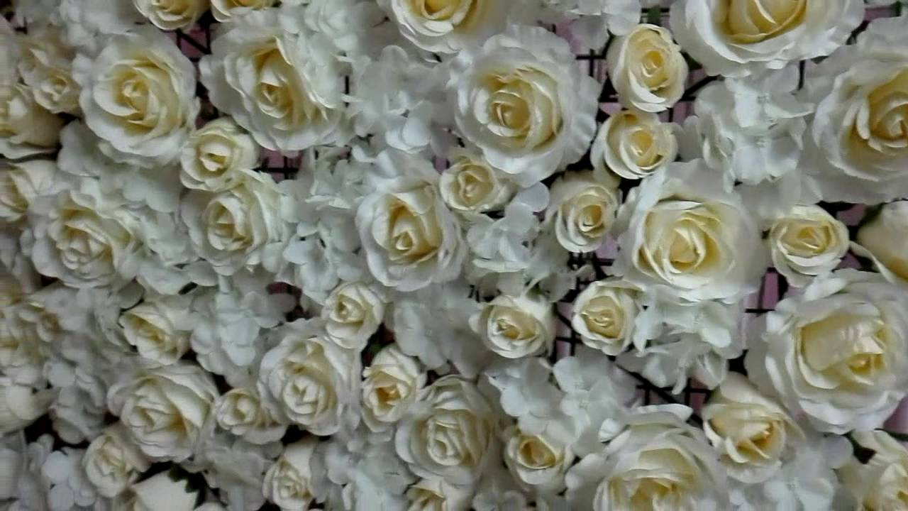 Diy flower backdrop youtube its youtube uninterrupted solutioingenieria Image collections