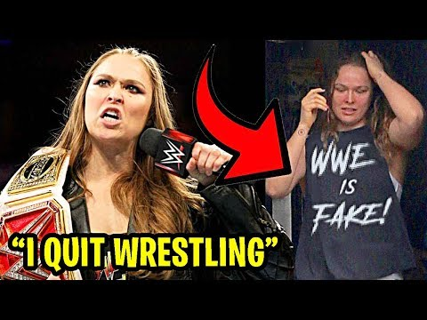 10 SECRETS The WWE Hides About Ronda Rousey!