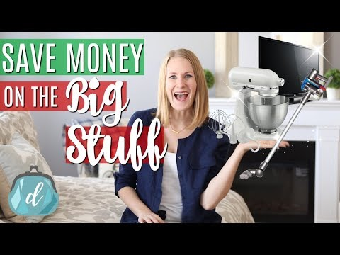 ORGANIZED TIPS TO SAVE $ ON THE BIG STUFF! ❤️ Best Holiday Deals in December & Year-Round!