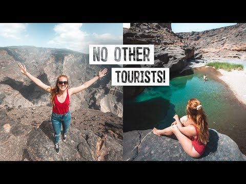 The Most INCREDIBLE Spots in Oman! - Private Blue Pool & Omani Grand Canyon 😍