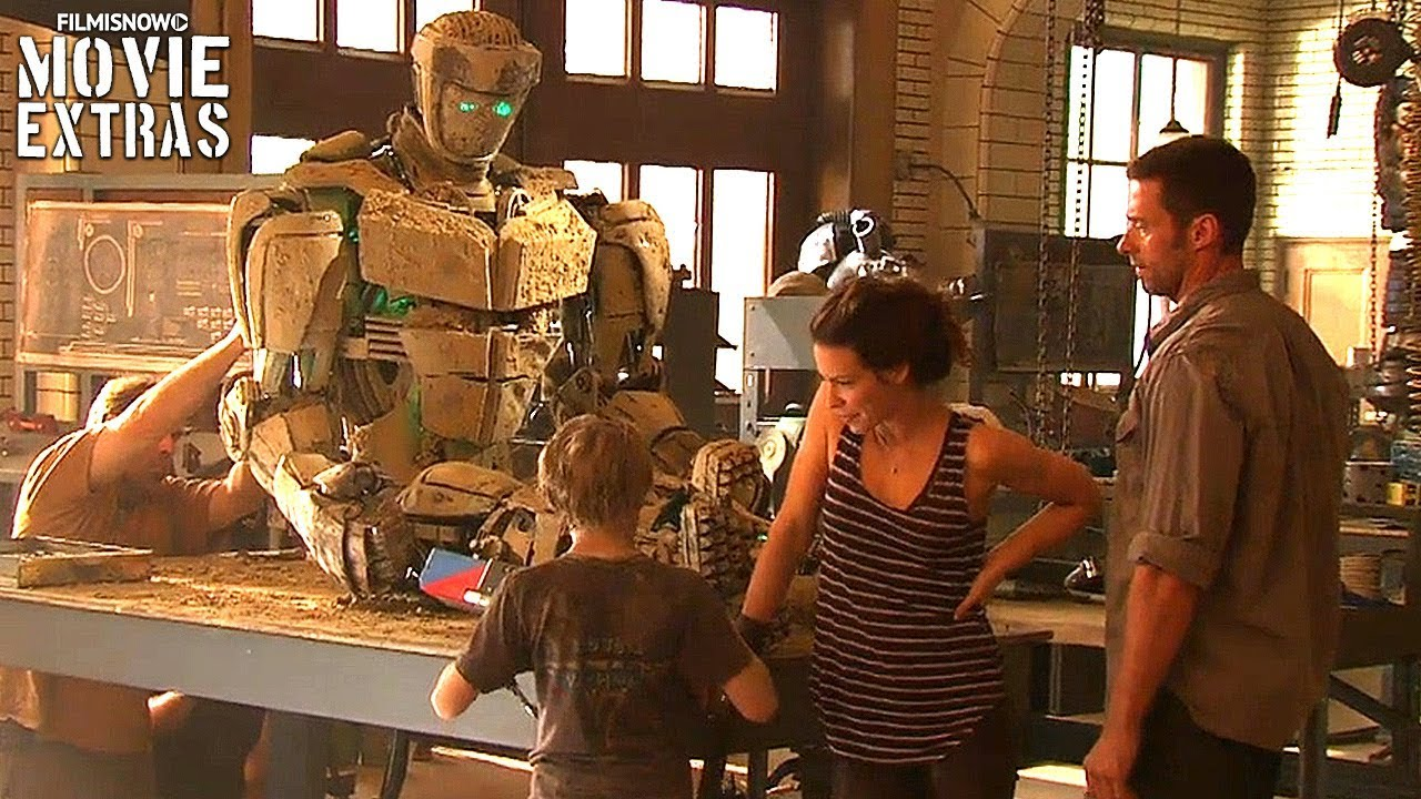 Go Behind The Scenes Of Real Steel 2011 Youtube