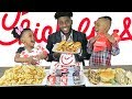 CHICK FIL A MUKBANG WITH REIGN AND ROYAL | HILARIOUS!
