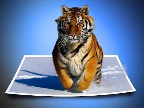 Эффект выхода из фото в фотошопе -Уроки от Art Of Photoshop