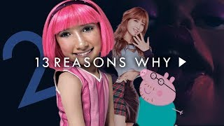 13 REASONS WHY de LAZY TOWN 2!!!