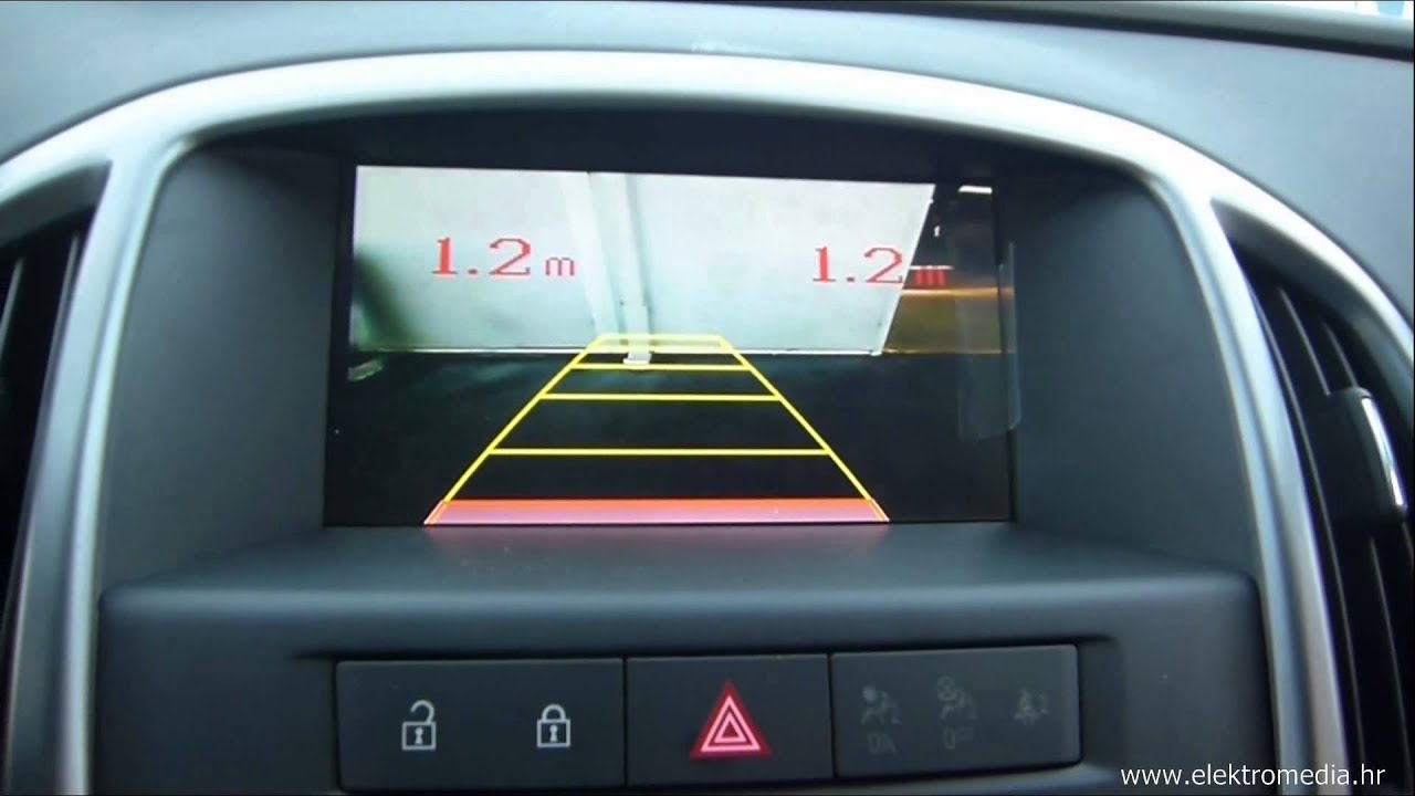 Back Up Sensors >> Opel Astra J Tourer 2015 OEM - Integrated Backup Camera ...