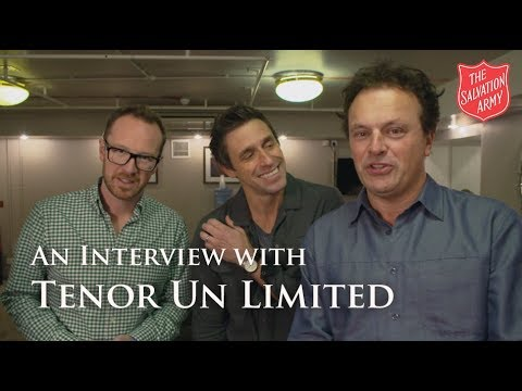 An Interview with Tenors Un Limited | The Salvation Army
