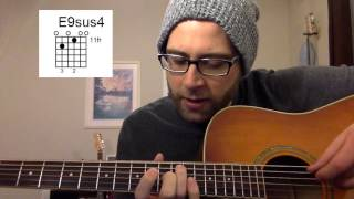 guitar chord of the day: e9sus4 (2.24.15)