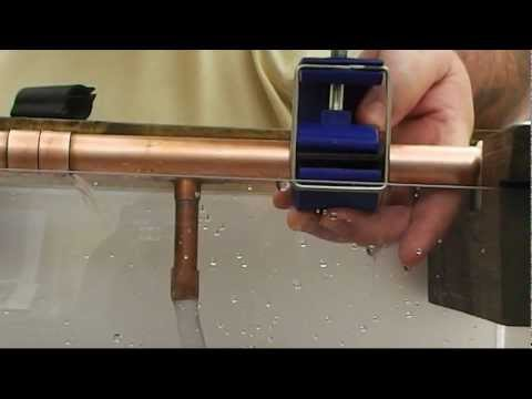Bondic liquid plastic welder copper pipe repair doovi for Plastic vs copper water pipes