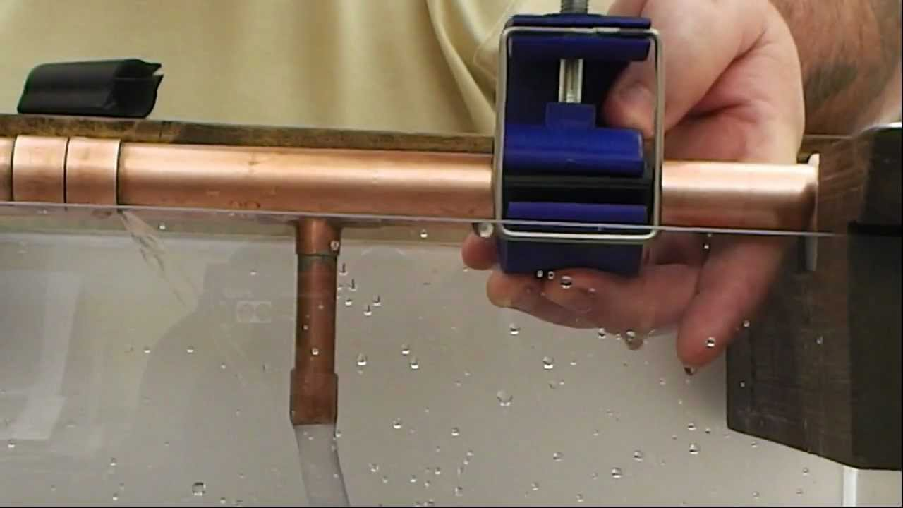 Leaking Copper Pipe Joint
