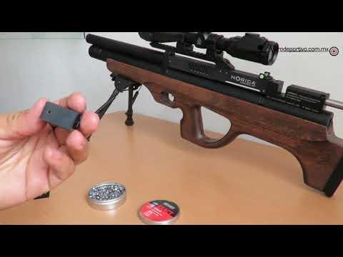 Revisión Rifle Norica Dark Bull BP Cal. 6.35 PCP