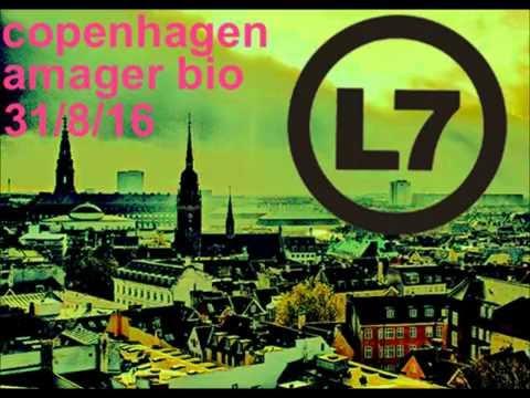 L7 - Live, Copenhagen Denmark 31.Aug.2016.