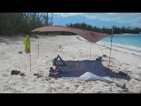 Make 15 Beach Shade Tent Easy Quick Diy Doovi