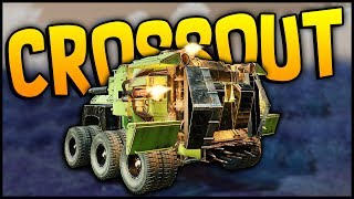 Crossout - IT JUST DOES SO MUCH DAMAGE! 3 Miniguns + 3 Coolers + 3 Radiators! - Crossout Gameplay