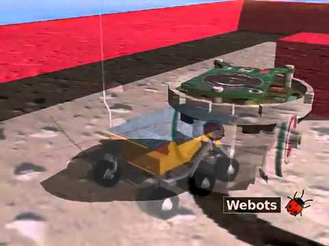 Webots Robot Simulator features