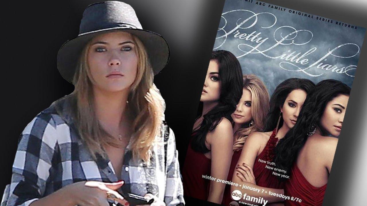 Ashley Benson Slams Pretty Little Liars Poster Too Much Photoshop
