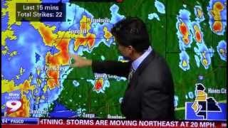 Thunderstorm Spring Hill Florida