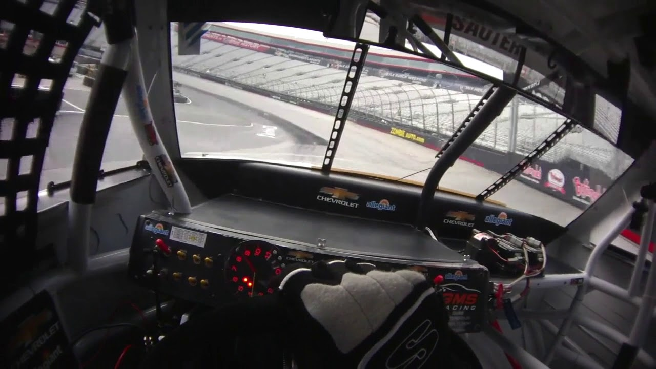 Take a lap around Bristol Motor Speedway with Johnny Sauter