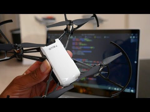 Flying a drone with Javascript!