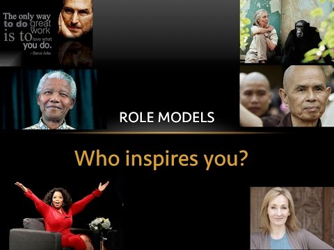 Inspiring role models - a collection of motivational people