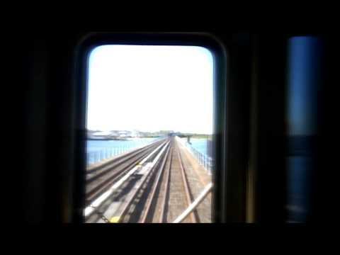 New York City Subway HD EXCLUSIVE: R46 A Train Railfan Over Newly Rebuilt IND Rockaway Line