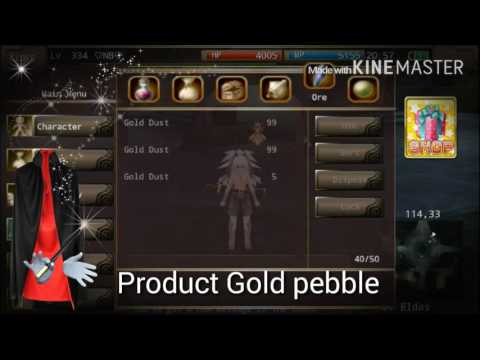 Iruna online How to make spina by gold nugget