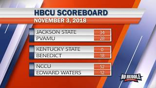 HBCU Football Scores: Week Ten