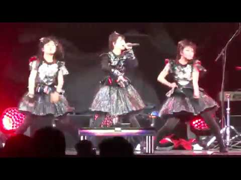 Babymetal - Karate @ PNC Arena in Raleigh, NC