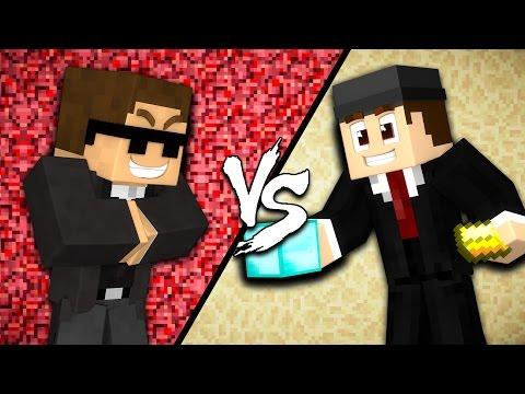 Evil Admin vs. Good Admin - Minecraft