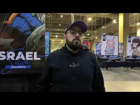 Elias Ortiz (Señor Pollo) le dice maricón a Mark Brooks - La Mole Comic-Con 2020
