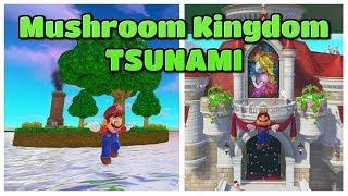 Mushroom Kingdom Got Hit by a TSUNAMI! - Super Mario Odyssey