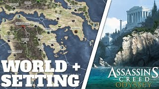 Assassin's Creed: Odyssey - Open World, Map Size, Setting & Regions [INFO]