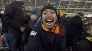 Download Video Goal Manolas, From away fans Curva. CSKA VS ROMA 1-2 MP3 3GP MP4