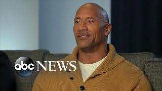Dwayne Johnson on why his new film hits so close to home