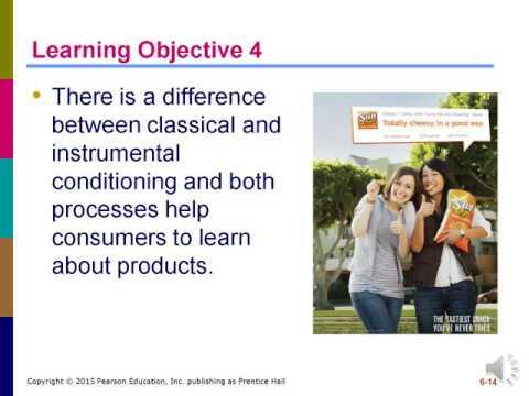 MKTG 3202 – Consumer Behavior: Learning and Memory (6)