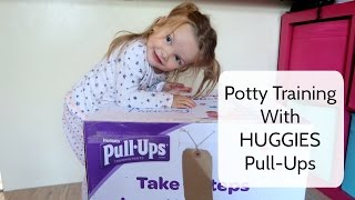 6 Steps To Potty Success With HUGGIES Pull-Ups #AD | Life With Pink Princesses