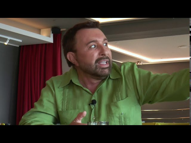 10 .JOSE MANUEL PARADA  @CULTURE CLUBBING TV  -  Interview -