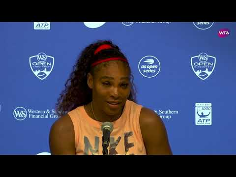 'I'm getting there' Serena Williams   2018 Western & Southern Open Second Round