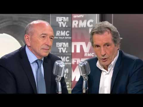 Gérard Collomb face à Bourdin