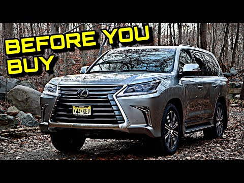 2020 Lexus LX 570 Review - Before You Buy - Is It A $100,000 Bargain?