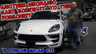 What kind of a mechanic says 'Screw It' to a Porsche Macan GTS? The CAR WIZARD shows just who