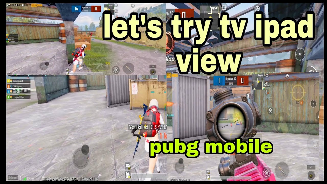 Download LET'S TRY TV IPAD View PUBG MOBILE l chaolung sukafa