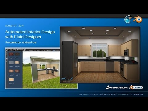 Fluid Designer Tutorial - Kitchen Design