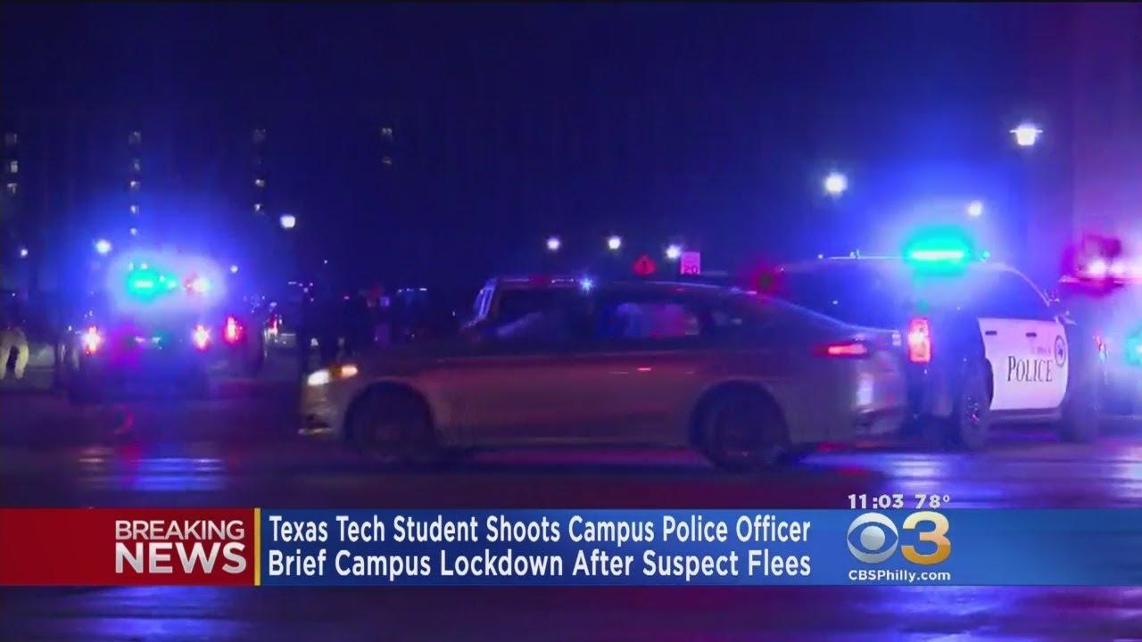 Texas Tech campus police officer fatally shot; suspect caught