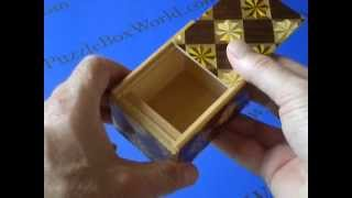 The 3 Sun 4 Step Kenbana Puzzle Box Is A Very Good Value!