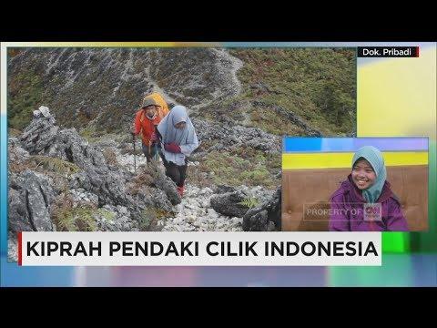 Khansa, Bocah 10 Tahun Penakluk 7 Puncak Tertinggi Indonesia