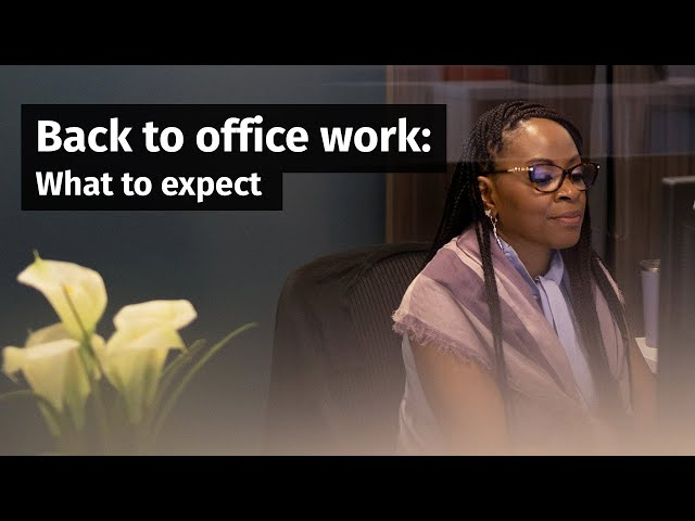 Going back to the office? Here's what business leaders say to expect