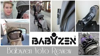 One of Sarah - This Mama Life's most viewed videos: BABYZEN YOYO PUSHCHAIR REVIEW